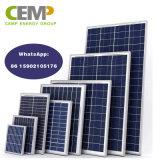 Faible coût Polycrystralline panneau solaire 3W, 5W, 10W, 20 W 30 50W 80W Mettre en place les besoins des ménages
