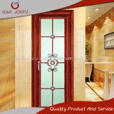 Portello interno di vetro della stoffa per tendine dei portelli di alluminio della stanza da bagno