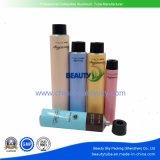 Haar-Farben-Farben-Sahne-Karosserien-Sorgfalt-leeres zusammenklappbares kosmetisches verpackenaluminiumgefäß
