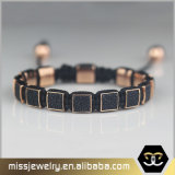 Pulsera genuina Mjb022 del cuero del Stingray del Mens al por mayor