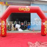 Fornecedor de Guangzhou ângulo exterior Design em Arco de cores simples para atividade de cava-Porta insufláveis