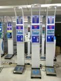 Dhm-15b Coin-Operated Ultrasonidos de altura y peso Grasa Corporal IMC Escala Equilibrio de la máquina de Presión arterial