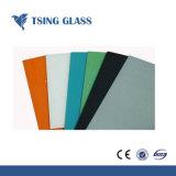 Het kleur Geschilderde Groenachtig blauwe Geschilderde Glas van het Glas