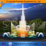 Los diseños de la música de baile del sistema de fuente de agua con Converter