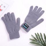 スピーカーが付いている最もよい冬の方法タッチスクリーンの電話手袋か二重冬のウールの無線手袋
