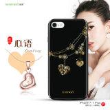 Cubierta para iPhone7, caja del teléfono del caso de la fuente IMD del teléfono de la muestra libre para iPhone7plus