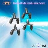 La parte di giro di CNC personalizzata fabbrica indurisce i pezzi di ricambio del motore automatico delle parti dell'acciaio