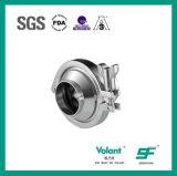Válvula de verificación sanitaria 316L del acero inoxidable 304