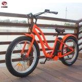 bici elettrica della spiaggia della gomma grassa del freno a disco della batteria di litio del motore 48V500W per Audlt