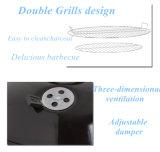 Novo Design Exterior cómoda potável antracite Churrasqueira Fogão churrascos