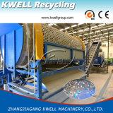 Escamas de la botella del animal doméstico que reciclan la escama de la línea/del animal doméstico que recicla el equipo