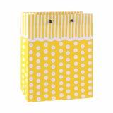 Polka PUNKT Muster-Form-Kleidungs-Verzierung-Geschenk-Papierbeutel färben