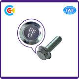Acciaio al carbonio di GB/DIN/JIS/ANSI/vite di acciaio inossidabile delle 4.8/8.8/10.9 flange per la ferrovia della costruzione di ponticello