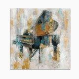 بيانو [أيل بينتينغ] [هندمد] نوع خيش فنّ لأنّ يعيش غرفة زخرفة
