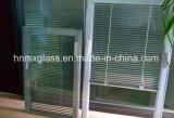 Стекло стеклянного блока здания ручное изолируя с шторками внутрь
