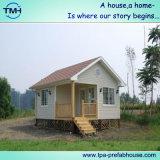 中国からの美しいプレハブの軽い鉄骨構造のホーム