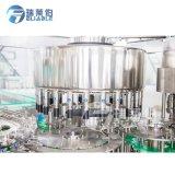 Botella de plástico de la máquina de llenado de agua potable purificada