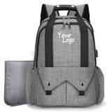 Детский Multi-Pockets пеленок Diaper Bag мама рюкзак с сенсорной панели