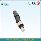 Conector rápido óptico de fibra FC (FTTH)