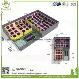 La fabricación comercial personalizada gran trampolín para interiores