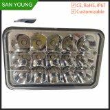 12V luz del trabajo de la pulgada 24V LED de la luz 5 del trabajo del coche LED para el trabajo de los carros