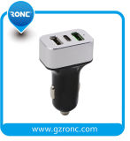 Commerce de gros 5V 3.4A Chargeur de voiture USB double chargeur de téléphone de type C