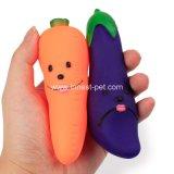 Verdura stridula accessoria del giocattolo del cane dell'animale domestico di gomma