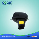 1d小型Bluetoothのリングのタイプ無線バーコードのスキャンナーOcbs-R01