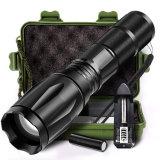 Focus ajustable Zoomable Mini Lampe torche à LED super brillant, lampe torche