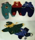T2Knitted Children&acutes Garment608の高い27cm上の直径11.3cmのT2609高い28cm上の直径11.3cm