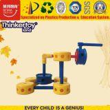 Brinquedos plásticos magnéticos dos blocos de apartamentos para brinquedos educacionais dos miúdos