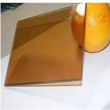 """vetro """"float"""" riflettente grigio scuro di vetro/di vetro/costruzione di 3.5-10mm Ce/ISO/vetro tinto"""