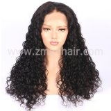 Baby Hair를 가진 전 Plucked 150%년 Density Full Lace Human Hair Wig