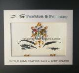 당 축제 (SR-44)를 위한 임시 마스크 스티커 중국 바디 보석 스티커 모조 다이아몬드 눈 스티커