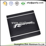 車のオーディオ・アンプのための6063 T5黒いアルミニウム脱熱器