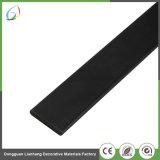 Ficha preta de 3K 200g de tecido de folha de fibra de carbono para os produtos de fibra de carbono