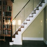 Metal perforado de Acero Inoxidable Varilla pasamanos de escaleras interiores