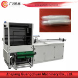 Copo de papel que conta a máquina de empacotamento