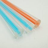De duidelijke Staaf van de Buis van de Staaf van het Plexiglas van de Kolom Acryl Ronde Duidelijke Acryl Stevige Duidelijke Plastic