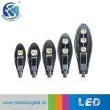 Le lampade di via esterne di alto potere 50W 100W 150W LED con Ce RoHS hanno approvato