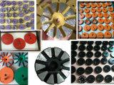 50 de lija Velcro de cerámica de 3 pulgadas de transición de molienda de bonos de las pastillas para el hormigón