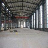 Vertiente pre dirigida de la estructura del marco de acero del almacén/de la fábrica