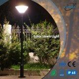 Het openlucht Zonne Lichte, PostLicht van de Tuin met Batterij LiFePO4