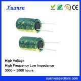 De hoge Elektrolytische Condensator van de Frequentie 4000hours 47UF 100V
