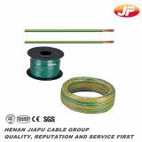 Fio elétrico flexível isolado PVC de cobre do condutor
