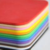 Folha colorida EVA da espuma da embalagem