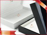 Luxuxschmucksache-Ablagekasten-hölzerne Ring-Schaukartons