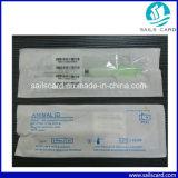 la etiqueta de cristal del microchip de 125kHz 134.2kHz RFID solicita ISO11784/85