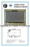 Corola Ae100 16400-15510를 위한 차 방열기