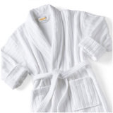De buitensporige Katoenen Mensen /Women van Terry Stripe Bathrobe Velvet Robes